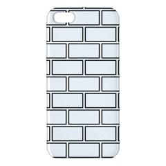 Wall Pattern Rectangle Brick Iphone 5s/ Se Premium Hardshell Case