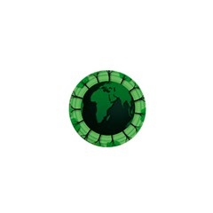 Earth Forest Forestry Lush Green 1  Mini Buttons
