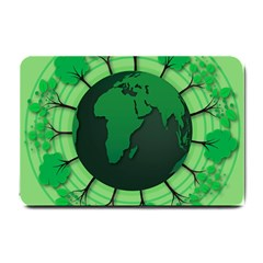 Earth Forest Forestry Lush Green Small Doormat