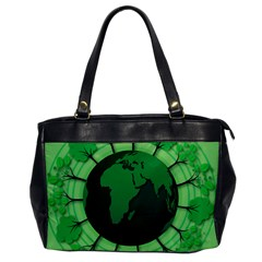Earth Forest Forestry Lush Green Office Handbags by BangZart