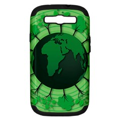 Earth Forest Forestry Lush Green Samsung Galaxy S Iii Hardshell Case (pc+silicone) by BangZart