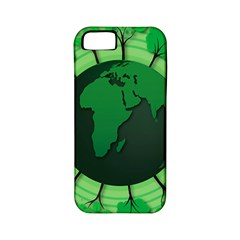 Earth Forest Forestry Lush Green Apple Iphone 5 Classic Hardshell Case (pc+silicone)