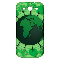 Earth Forest Forestry Lush Green Samsung Galaxy S3 S Iii Classic Hardshell Back Case by BangZart