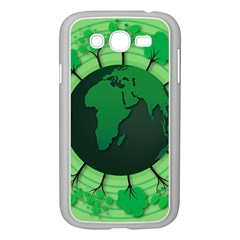 Earth Forest Forestry Lush Green Samsung Galaxy Grand Duos I9082 Case (white) by BangZart