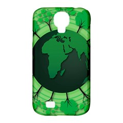 Earth Forest Forestry Lush Green Samsung Galaxy S4 Classic Hardshell Case (pc+silicone)