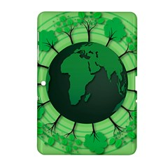 Earth Forest Forestry Lush Green Samsung Galaxy Tab 2 (10 1 ) P5100 Hardshell Case