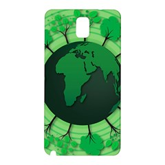 Earth Forest Forestry Lush Green Samsung Galaxy Note 3 N9005 Hardshell Back Case by BangZart