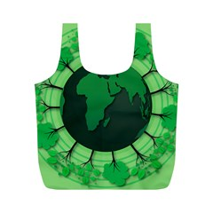 Earth Forest Forestry Lush Green Full Print Recycle Bags (m)  by BangZart