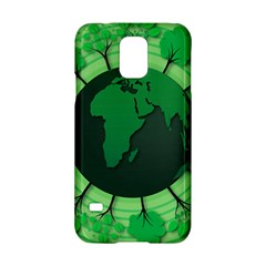 Earth Forest Forestry Lush Green Samsung Galaxy S5 Hardshell Case  by BangZart