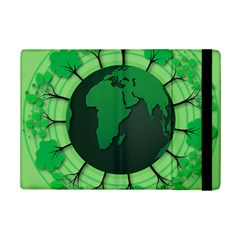 Earth Forest Forestry Lush Green Ipad Mini 2 Flip Cases