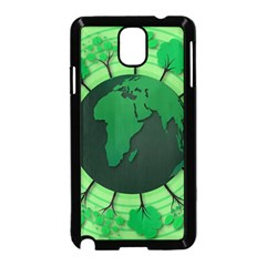 Earth Forest Forestry Lush Green Samsung Galaxy Note 3 Neo Hardshell Case (black) by BangZart