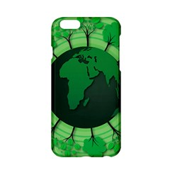 Earth Forest Forestry Lush Green Apple Iphone 6/6s Hardshell Case by BangZart