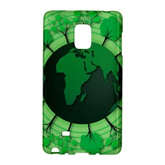 Earth Forest Forestry Lush Green Galaxy Note Edge by BangZart