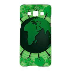 Earth Forest Forestry Lush Green Samsung Galaxy A5 Hardshell Case  by BangZart