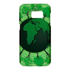 Earth Forest Forestry Lush Green Samsung Galaxy S7 Hardshell Case  by BangZart