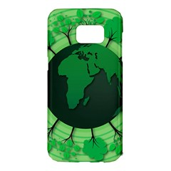 Earth Forest Forestry Lush Green Samsung Galaxy S7 Edge Hardshell Case by BangZart