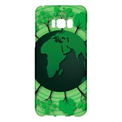 Earth Forest Forestry Lush Green Samsung Galaxy S8 Plus Hardshell Case  by BangZart