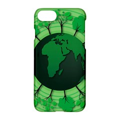 Earth Forest Forestry Lush Green Apple Iphone 8 Hardshell Case by BangZart