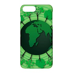 Earth Forest Forestry Lush Green Apple Iphone 8 Plus Hardshell Case by BangZart