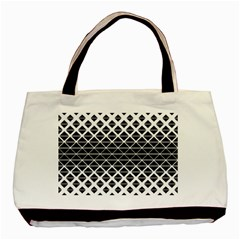 Triangle Pattern Background Basic Tote Bag