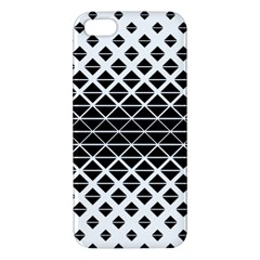 Triangle Pattern Background Apple Iphone 5 Premium Hardshell Case