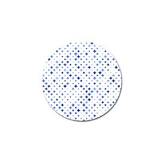 Star Curved Background Blue Golf Ball Marker (10 Pack) by BangZart