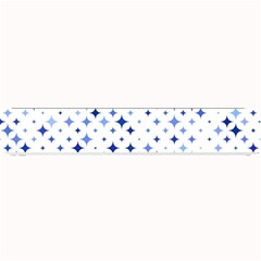 Star Curved Background Blue Small Bar Mats