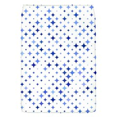 Star Curved Background Blue Flap Covers (s)