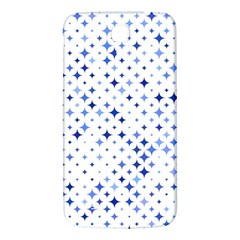 Star Curved Background Blue Samsung Galaxy Mega I9200 Hardshell Back Case
