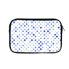 Star Curved Background Blue Apple Macbook Pro 13  Zipper Case