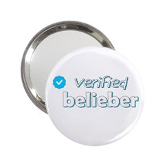 Verified Belieber 2 25  Handbag Mirrors by Valentinaart