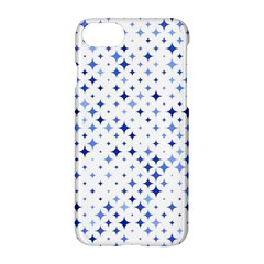 Star Curved Background Blue Apple Iphone 8 Hardshell Case