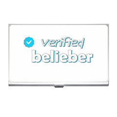 Verified Belieber Business Card Holders by Valentinaart