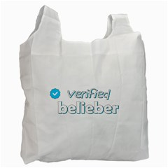 Verified Belieber Recycle Bag (one Side) by Valentinaart