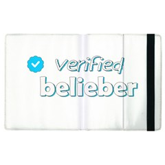Verified Belieber Apple Ipad 3/4 Flip Case by Valentinaart