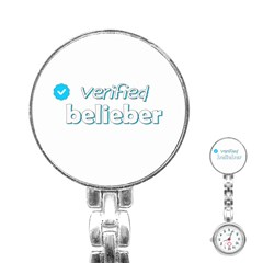 Verified Belieber Stainless Steel Nurses Watch by Valentinaart