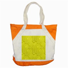 Yellow Oval Ellipse Egg Elliptical Accent Tote Bag