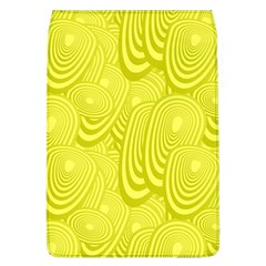 Yellow Oval Ellipse Egg Elliptical Flap Covers (l)  by BangZart