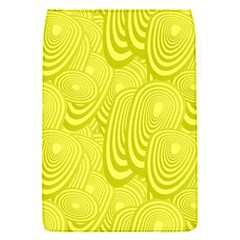 Yellow Oval Ellipse Egg Elliptical Flap Covers (s)  by BangZart