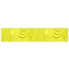 Yellow Oval Ellipse Egg Elliptical Small Flano Scarf