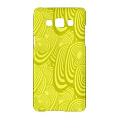 Yellow Oval Ellipse Egg Elliptical Samsung Galaxy A5 Hardshell Case