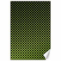 Pattern Halftone Background Dot Canvas 12  X 18