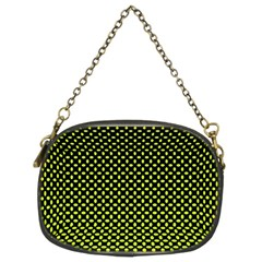 Pattern Halftone Background Dot Chain Purses (two Sides)