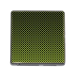 Pattern Halftone Background Dot Memory Card Reader (square)