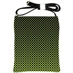 Pattern Halftone Background Dot Shoulder Sling Bags