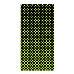 Pattern Halftone Background Dot Shower Curtain 36  X 72  (stall)  by BangZart
