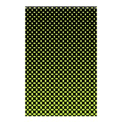 Pattern Halftone Background Dot Shower Curtain 48  X 72  (small)