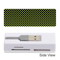 Pattern Halftone Background Dot Memory Card Reader (stick)
