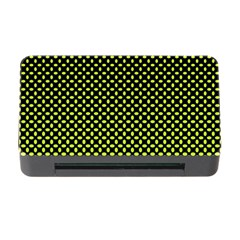 Pattern Halftone Background Dot Memory Card Reader With Cf