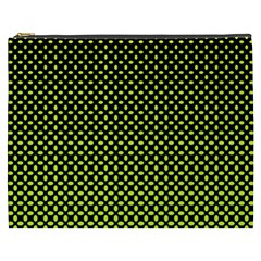 Pattern Halftone Background Dot Cosmetic Bag (xxxl)  by BangZart